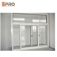 Buy cheap Powder Coated Office Interior Aluminium Sliding Windows Customized Size product