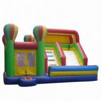 Buy cheap Combo Inflatable Jumping Playhouse with Climbing and Slide product