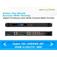 Buy cheap ASI IP Output Digital TV Satellite Receiver 4-Tuner 4 CAMs/CIs support DVB-C DVB-S2 DVB-T2 product