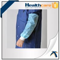 Buy cheap HDPE Arm Length Waterproof Disposable Sleeve Covers For Food Processing / Hospital product
