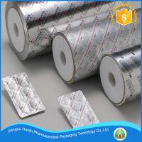 Buy cheap Printed treatment and roll type aluminum foil for pharmaceuticals blister packages product