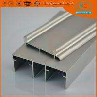 Buy cheap Aluminum sliding track profile for window and doors, sling window profile product