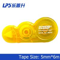 Quality LPS PET Innovative Yellow Mini Correction Tape Office Stationery Highlighter T-W90126 for sale
