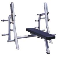 Buy cheap High Performance Power Exercise Equipment Flat Press Bench With Smooth Outline product