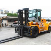 Buy cheap 20 Ton Forklift Equipment Rental , Heavy Duty Forklift For Stations Chinese Engine product