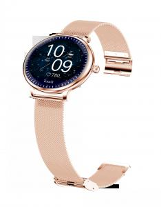 """Buy cheap Ladies Round Screen 1.08"""" Blood Pressure Heart Rate Smart Watch product"""