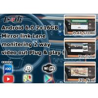 GPS Android navigation video interface cast screen google