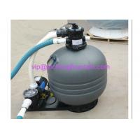 Buy cheap Top Mounted Plastic Swimming Pool Sand Filters For Ponds Filtration Deep Grey Color product
