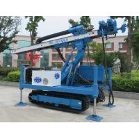 Quality ISO9001 Dth Hammer Hydraulic Core Drill Rig / pile foundation machine for sale