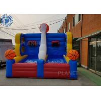 Buy cheap Full Court Press Basketball Inflatable Sports Games For Party Rental product