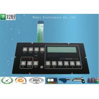 Buy cheap Clear LED Window Polydome Push Button Embossing Membrane Switch Overlay With Pin Female Connector product