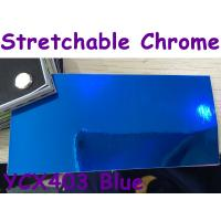Buy cheap Stretchable Chrome Mirror Car Wrapping Vinyl Film - Chrome Blue product
