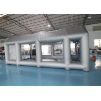 Buy cheap Silver 7m Length Large Inflatable Auto Paint Booth 3 Years Warranty product