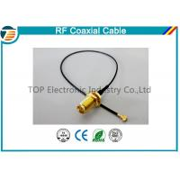 Buy cheap High Frequency RF Pigtail Coaxial Cabl For Jumper Antenna Assembly product