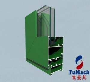 Buy cheap 6000 T5 T8 Series Europe Design Sliding Windows Aluminum Profile product