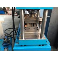 Buy cheap Wall Board  Shutter Roll Forming Machine with Punching 56mm Shaft product