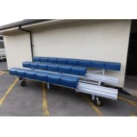 Buy cheap Convenient Aluminium Bench Seats Swivel Casters For Outdoor / Indoor Movement product