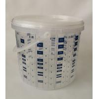 Buy cheap 4000ml paint mixing cup measuring printed cup calibrated-up cup disposable from wholesalers