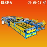 Buy cheap Golden supplier Nanjing BLMKA air conditioning HVAC u shape auto duct making machine product