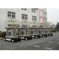 Buy cheap Four Mast Self Propelled Aerial Work Platform 10m For Continuous Aerial Working product