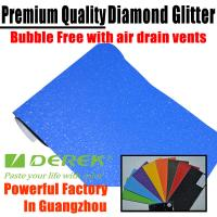 Buy cheap Brilliant Diamond Sanding Glitter Vinyl -- Sparkle Wrap Blue product