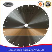 Buy cheap Low Noise Saw Blade Blanks Power Tools Accessories For Cutting Granite / Marble 30CrMo Or 50Mn2V Material product