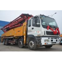 Buy cheap 8*4 SY5385THB 52m Concrete Boom Truck Euro 3 Emission Standard Type from wholesalers