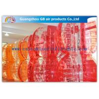 China Football Playing Inflatable Bumper Ball , Inflatable Ball You Get Inside For Humans on sale