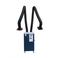 Buy cheap 2600m3/H Double Suction Arms Soldering Fume Extractor from wholesalers