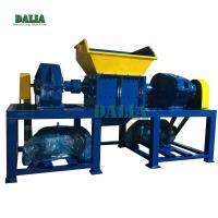 China High Performance Smashing Metal Shredder Machine Slow Speed 500kg/h Capacity on sale