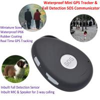 Quality Mini Waterproof 3G GSM Personal GPS Tracker Locator Elderly Fall Detection SOS for sale