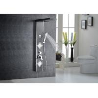 Buy cheap Multi Functions Thermostatic LED Shower Panel Black Painting ROVATE 8220-2 product