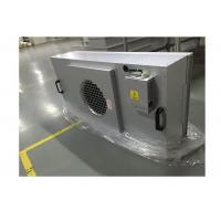 Buy cheap Modular Clean Room FFU Hepa Filter With Anodized Aluminum Body Silver Color product