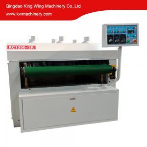 China Wood grain steel roller brushing machine on sale