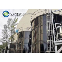 Buy cheap Customized Glass Lined Steel Landfill Leachate Tanks product