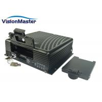 Buy cheap 4CH HD SD Card 4G Vehicle Security Camera Dvr H.264 WiFi 3G 4G In Optional product