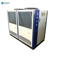 Buy cheap Best Price & Service Dairy Glycol Chilling Air Cooling Heat Exchanger Plate 20 HP Glycol Water Chiller For Milk Cooling product