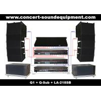 Buy cheap 480W Full Range Line Array Speaker With 1.4+2x10 Neodymium Drivers For Concert And Installation product