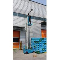 Quality High quality 3 m Aluminum Single Mast Aerial Work Platform Manlift For Warehouse for sale
