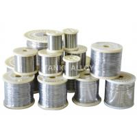 Buy cheap Annealed Nickel Based Alloy Flat Wire / Flat Ribbon High Resistance product