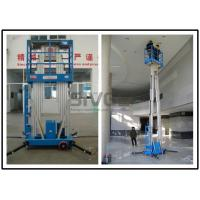 Buy cheap Dual Mast Vertical Mast Lift 8 Meter Platform Height For Business Decoration product