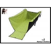 Buy cheap Green Backseat Pet Car Blanket Adjustable Straps Dog Beds For The Car product