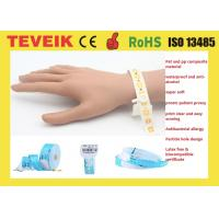 Buy cheap Anti-medical alcohol & water proof Patient Id Bracelets Adult Medical Hospital Patient Id Wristbands product