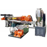 Buy cheap China high quality fluorine plastics electric cable masterbatch compounding making machine product