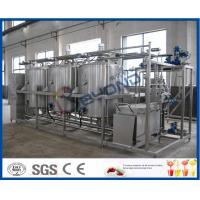Buy cheap Manually / Semi - Auto Small CIP Cleaning System Conjunct Type 5TPH 10TPH product