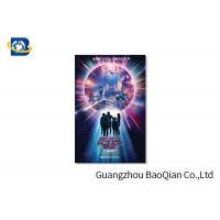 Buy cheap High Resolution Lenticular Greeting Cards Movie Star Photo Eco - Friendly Material product