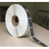 Buy cheap Self Adhesive Clear Bopp Roll Label , Custom Printed Chrome Sticker Label product