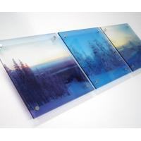 Buy cheap Energy Saving Uv Flatbed Printing High Resolution For Large Format Printing product