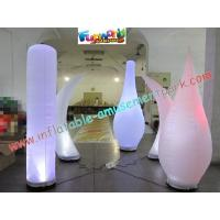 Buy cheap Inflatable Led Color Changing Lighting Decoration Pillar product