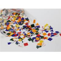 Quality Assorted Gummed Paper Shapes Art Project For Greeting Card Decoration for sale